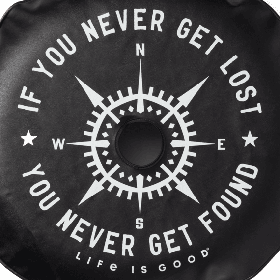 Lost and Found Compass Rearview Camera Tire Cover