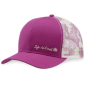 Lotus Icon Hard Mesh Back LiG Chill Cap