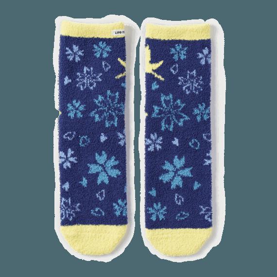 Love Birds Plush Snuggle Socks