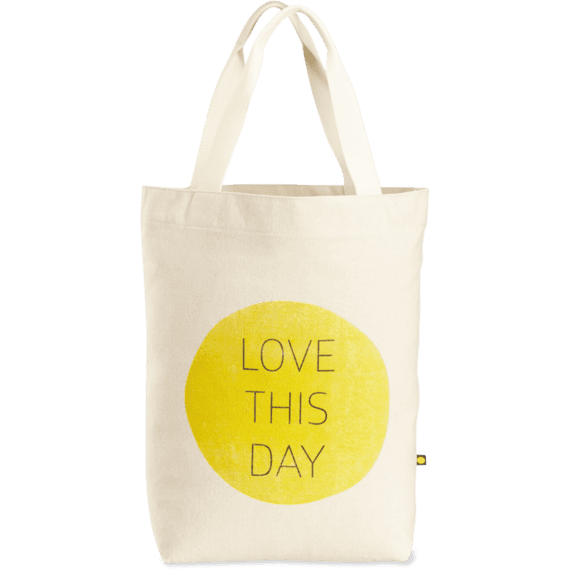 Love This Day Sun Messaging Tote