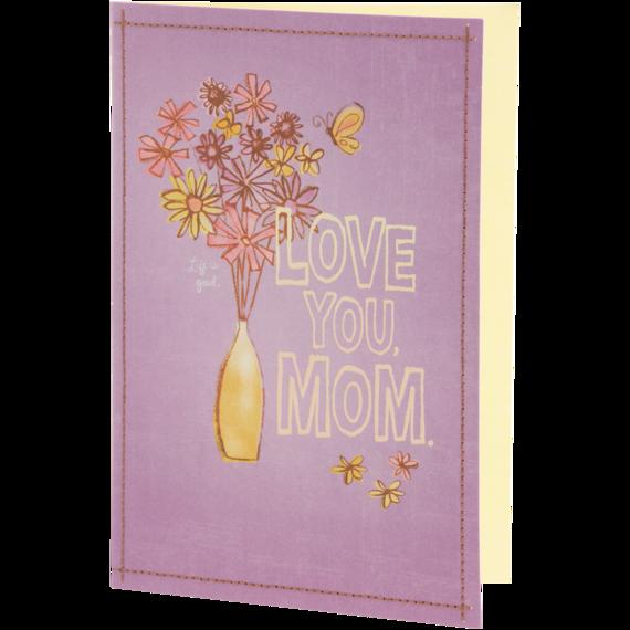 Love You Mom Card
