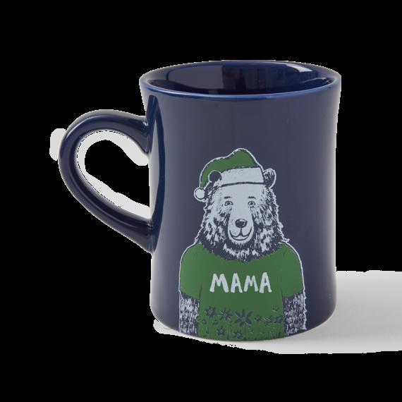 Mama Santa Bear Diner Mug