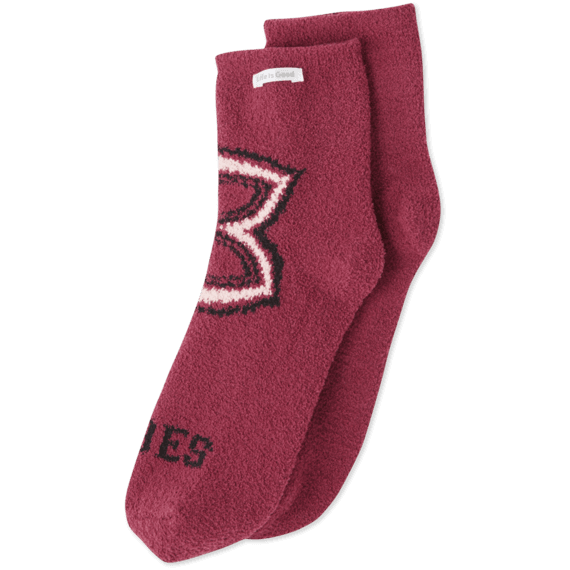 Mandala Vibes Plush Snuggle Sock