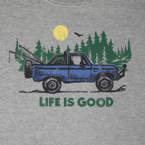Men's ATV Life Is Good Pocket Crusher Tee