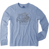Men's ATV Lights Long Sleeve Crusher Tee