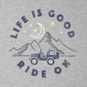 Men's ATV Ride Long Sleeve Crusher Tee