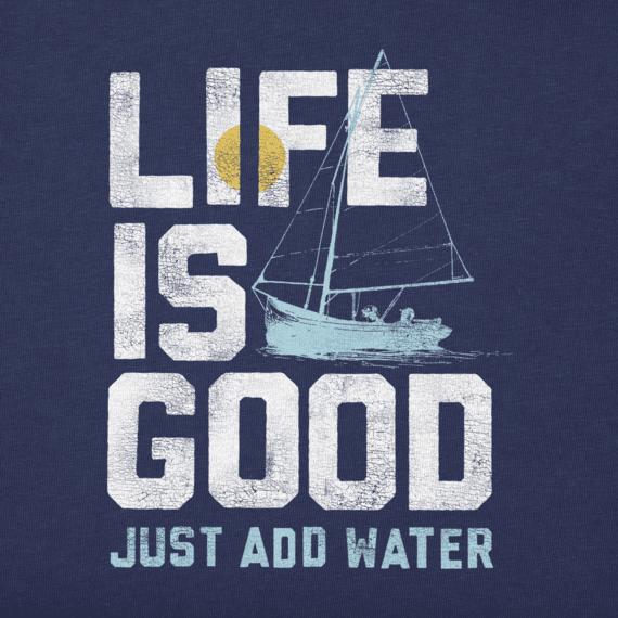 Men's Add Water Boat Crusher Tee