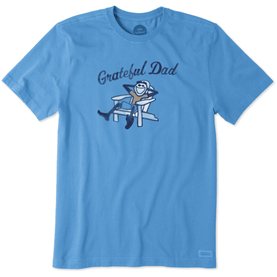 Men's Adirondack Grateful Dad Crusher Tee