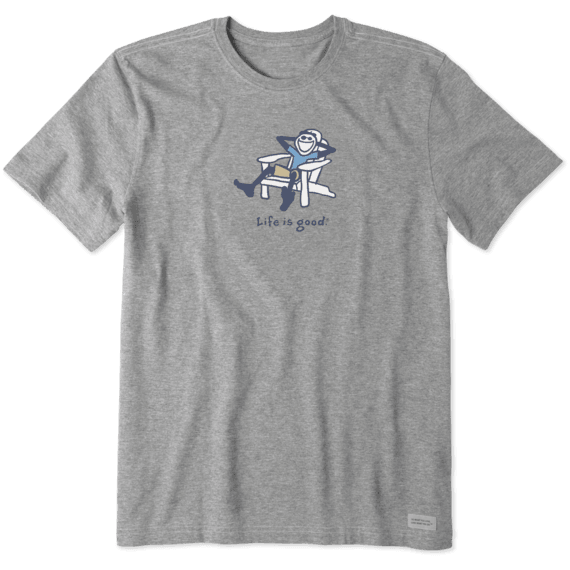 Men's Adirondack Jake Vintage Crusher Tee