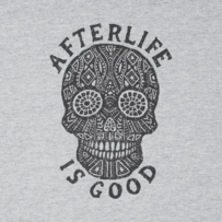 Men's Afterlife Is Good Long Sleeve Crusher Tee
