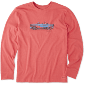 Men's Air Conditioning Long Sleeve Crusher Tee