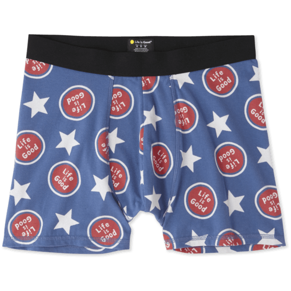 Men's All Over Stars Spheres Boxers