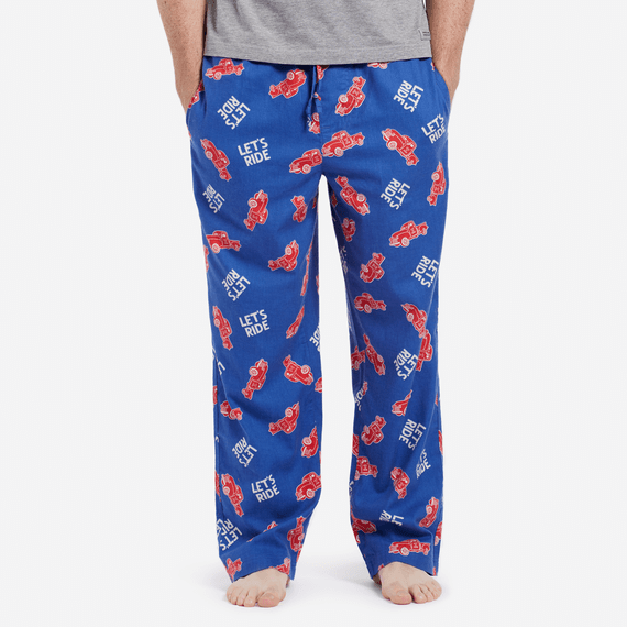 Men's All Over Truck Sleep Pants