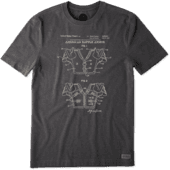Men's American Armor Blueprint Crusher Tee