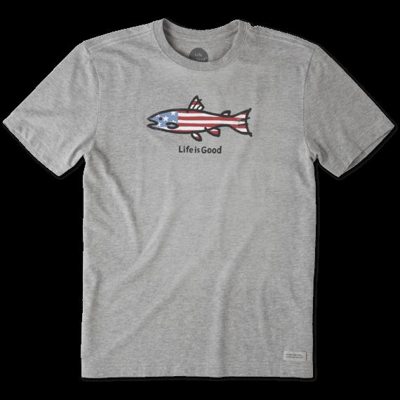 Men's American Fish Crusher Tee