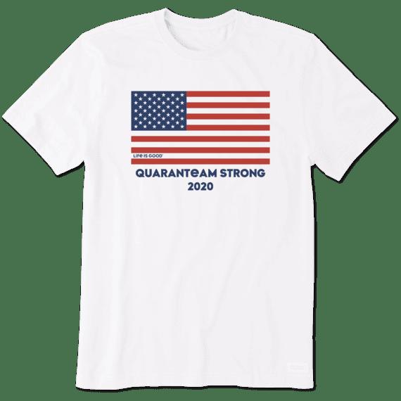 Life is Good Mens Mens Crusher Tee America//Flag