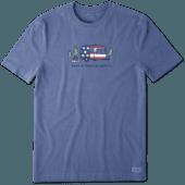 Men's Americana Camper Vintage Crusher Tee