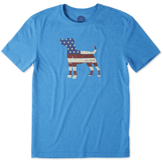 Men's Americana Dog Cool Tee