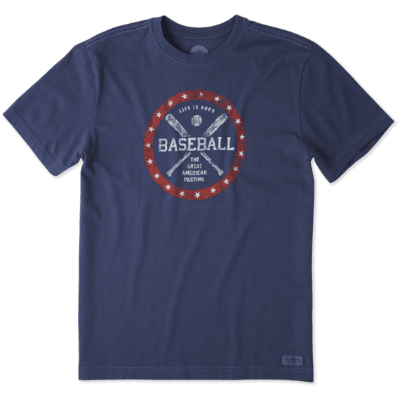 Men's Americana Pastime Crusher Tee