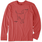 Men's Amigo Long Sleeve Crusher Tee