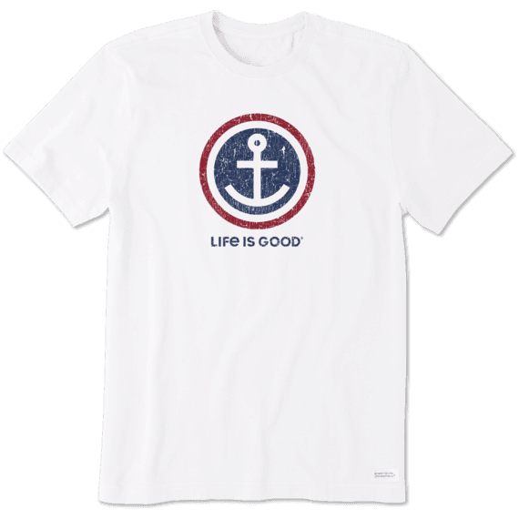 Men's Anchor Coin Crusher Tee