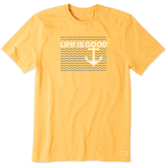 Men's Anchor In Waves Crusher Tee