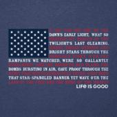 Men's Anthem Flag Cool Tee