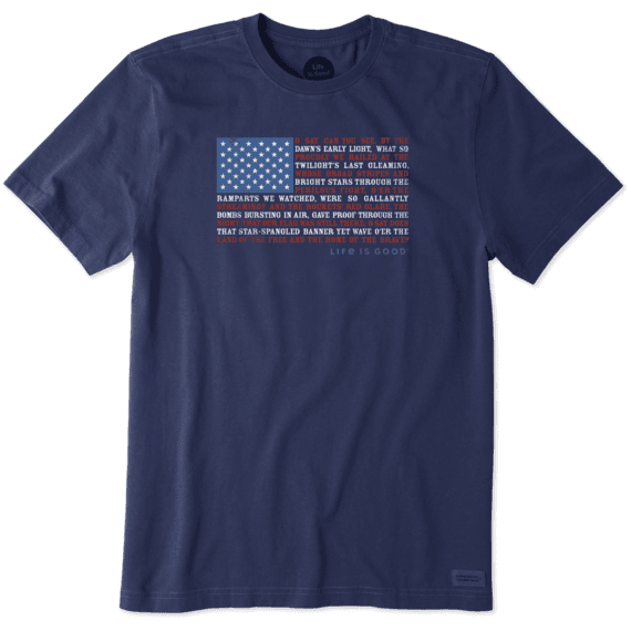 Men's Anthem Flag Crusher Tee