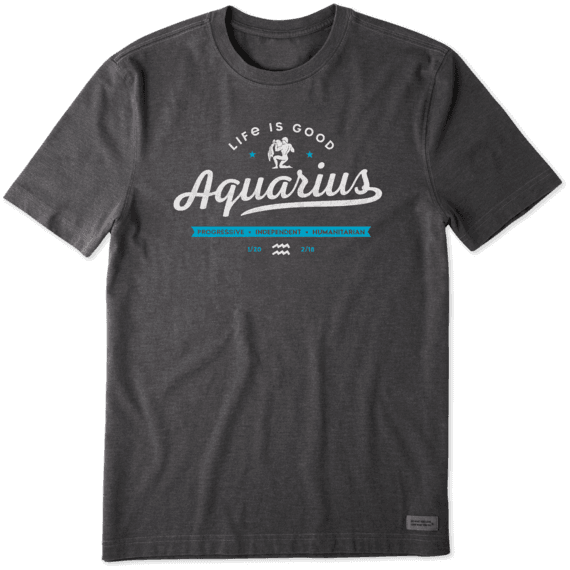 Men's Aquarius Crusher Tee