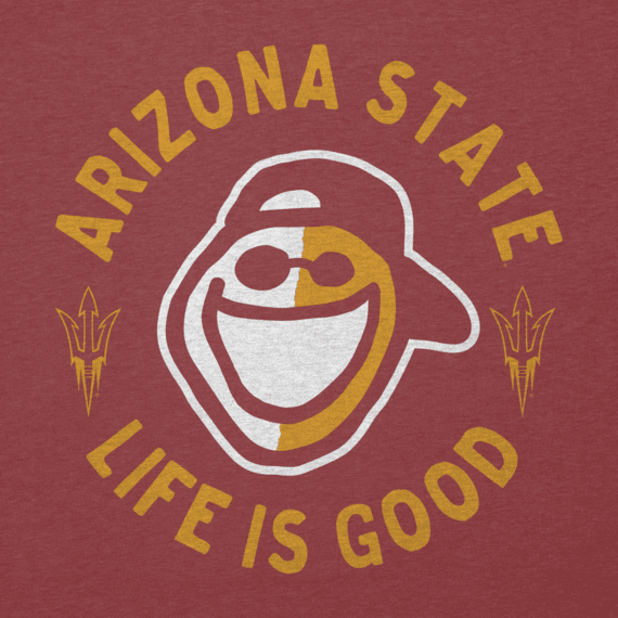 Men's Arizona State Face Paint Jake Cool Tee