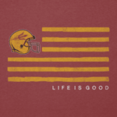 Men's Arizona State Flag Cool Tee