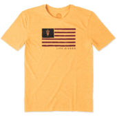 Men's Arizona State Team Flag Cool Tee