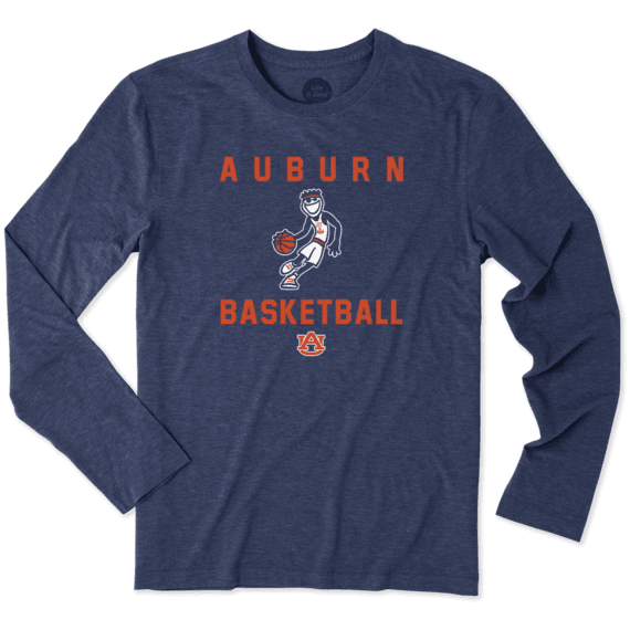 Men's Auburn Tigers Athlete Jake Long Sleeve Cool Tee