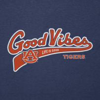 Men's Auburn Tigers Good Vibes Tailwhip Cool Tee