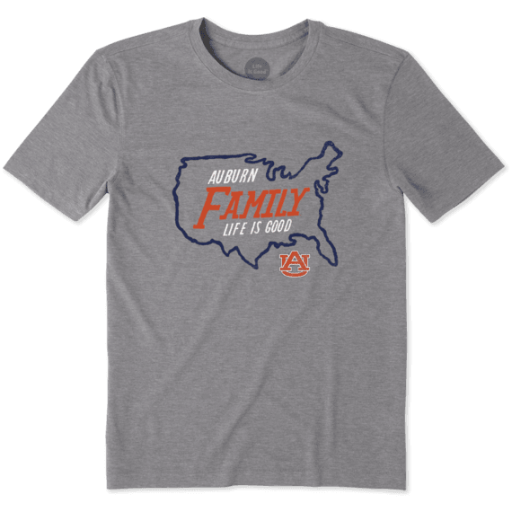 Men's Auburn Tigers Nation Outline Cool Tee