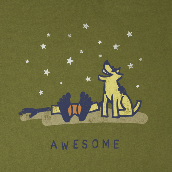 Men's Awesome Universe Smooth Tee