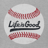 Men's Ballyard Baseball Long Sleeve Crusher Tee
