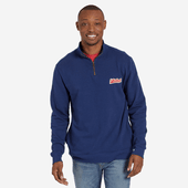 Men's Ballyard Script Simply True Quarter Zip