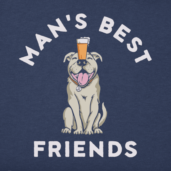 Men's Bark and Beer Crusher Tee