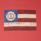 Men's Baseball Flag Crusher Tee