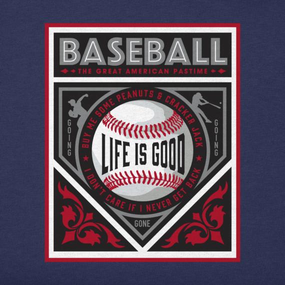 Men's Baseball Manifesto Crusher Tee