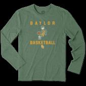 Men's Baylor Bears Athlete Jake Long Sleeve Cool Tee