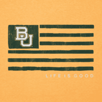 Men's Baylor Bears Team Flag Cool Tee