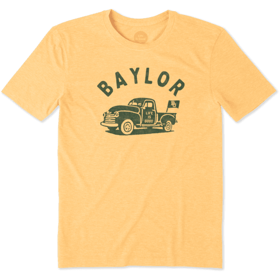 Men's Baylor Vintage Truck Cool Tee