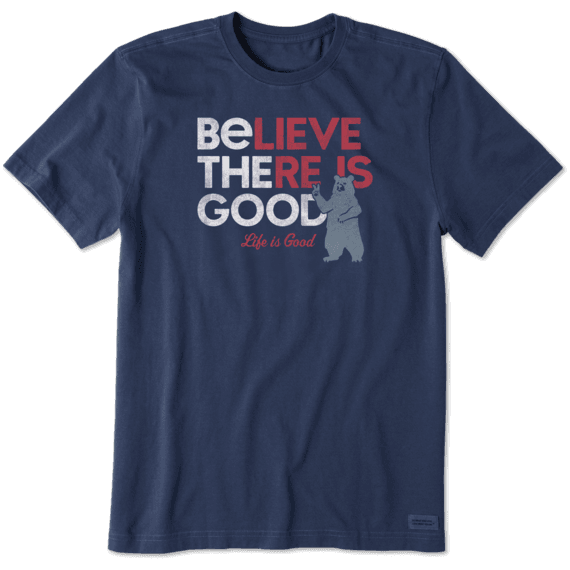 Men's Be the Good Bear Crusher Tee