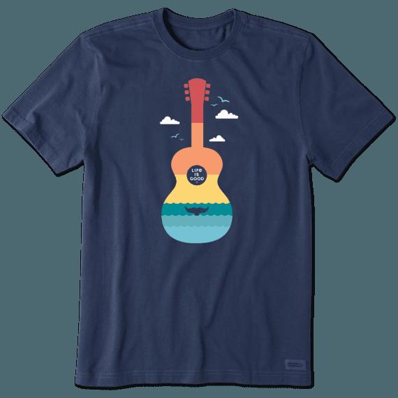 Men's Beach Guitar Crusher Tee