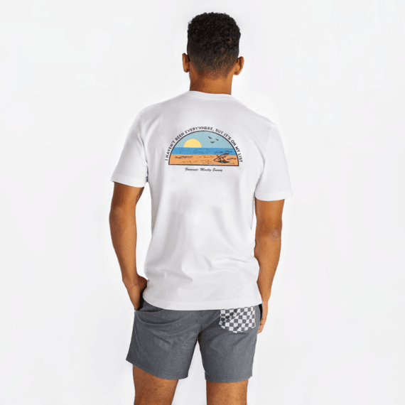 Men's Beach List Crusher Tee