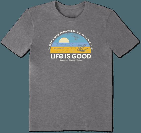 Men's Beach List Cool Tee