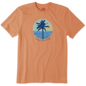 Men's Beach Patterns Crusher Tee