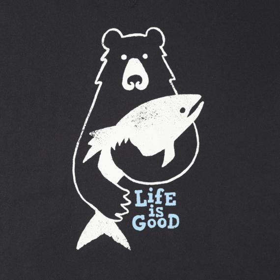 Men's Bear Fish Go-To Crew